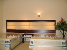 customized standard room hotel bedroom furniture/MDF with veneer motel bedroom furniture CH-R8005