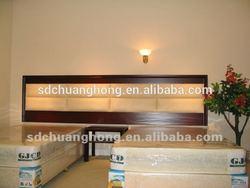 customized standard room hotel bedroom furniture/MDF with veneer motel bedroom furniture CH-R8005