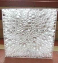 transparent Decorative honeycomb core ceiling material