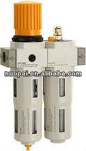 NPPC brand. FESTO type FRC air filter regulator lubricator combination. FESTO air treatment unit