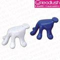 Forma de la mano masajeador, fácil de manejar deisgn, material del abs