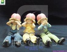resina mela harvest festival figurine mestieri