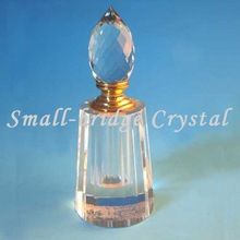 Factory Fashion clear Empty crystal perfume bottle XSP0013