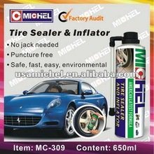 2014 hot sales 650ml Tyre Repair Sealent & Inflator