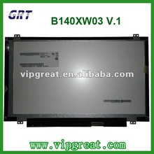 "14.0""slim B140XW03 V.1 laptop led panel"