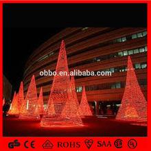 2015จีนโรงงานหม้อแปลงแสงไฟคริสต์มาสต้นไม้