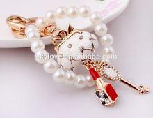 2014 New Novelty Item Fashion Lipstick Handbag Keychain For Halloween Day Present
