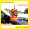 Hanging paper car air freshener with long-lasting smell ZM001