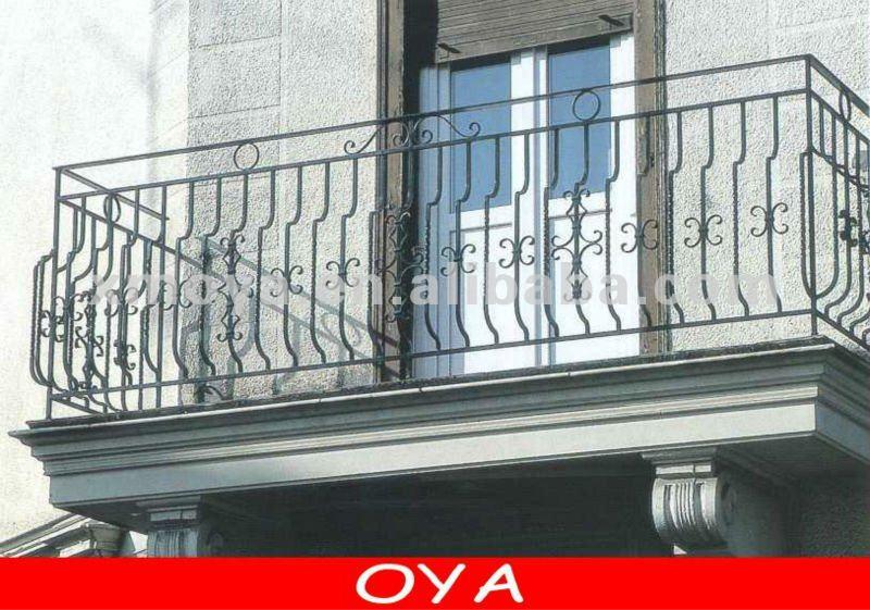 Alloy Windows > French Aluminium Door Balcony Window Grill Design