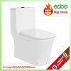 Exclusive Popular Middle-east design floor standing S-trap 225mm&250mm bathroom washdown toilet sanitary ware