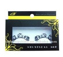2014 hot design DIY free sample star color false paper eyelashes