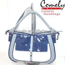 Comely handbags shiny pu young export school bag