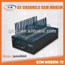 best 32 channel gsm sms modem/GSM modem /visiontek gsm modem