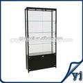Venda quente armário de exposição de vidro / canto armário de exposição de vidro / vitrine com porta de correr de vidro