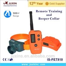 Big LCD Display 500m Remote Dog Training Collar and Beeper Collar Hunter training collar