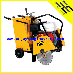350mm walk behind 9hp robin engine concrete road cutter