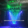 5w laser verde sistema de homem nebulosa de luz