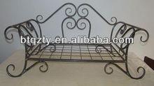 metal frame dog bed