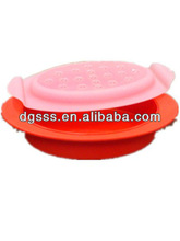 sillcone foldable lunch box bulk lunch box with lid