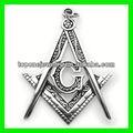 famosos design açoinoxidável jóias maçônica