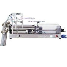 2heads semi automatic pneumatic piston filler