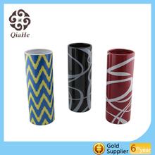 decal cylindrical fashion vase