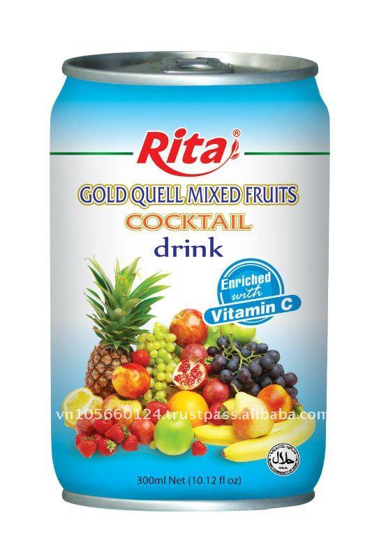 Minuman Koktail Buah-buahan Campuran Buah-buahan Minuman
