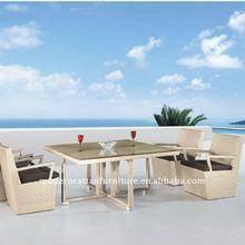 Openair furniture - rattan dining chair set