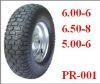 wheel barrow tyre 6.00-6/6.50-8/5.00-6 rubber wheel for /trolley ,lawn mower, trailer,