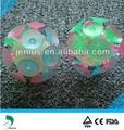 Tpr piscando eco- friendly ventosa bola brinquedo para a promoção e brinquedos, piscando bola de luz de brinquedo para crianças, magnética varas brinquedos