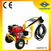 6.5hp 4 stroke plunger pump gasoline high pressure washer hot,cold water pressure washer