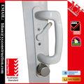 as2047 de entrada de aluminio de doble panel de puertas correderas de cristal