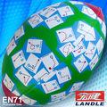 en71 6p de cuero de la pu pvc cosida oficial de pelotas de rugby