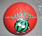 6 inch rubber ball playground balls basketball footballs