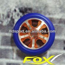 Top quality CNC aluminium pu foam filled wheel