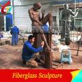 De fibra de vidrio de la artesanía figura estatua