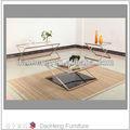 extensible table basse en verre