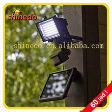 60 pcs high power motion sensor led solar light