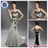 AM3015 Sexy spaghetti strap lace corset black and white wedding dresses 2013