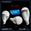 aluminum 3w-24w led 12w bulb led light bulbs canada