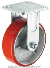 Heavy Duty Polyurethane Rigid Ball Caster Wheel
