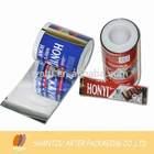 Gravure printing plastic chocolate bar packaging