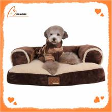China Factory Made Cotton Warm Sofa Dog Luxury Pet Dog Beds