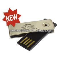 Popular promotional gift usb metal, mini metal 1 gb - 256 gb usb flash disk