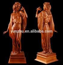 tallado a mano de madera de esculturas africanas