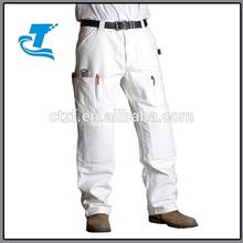 2014 venta caliente blanco pintor pantalones