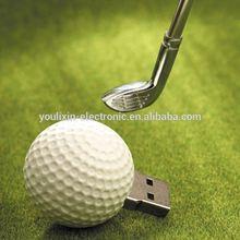 Hotselling Freesample Highspeed promotional golf ball usb flash drive