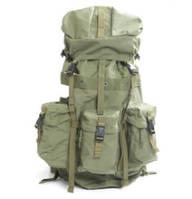 military army canvas camouflage tactical backpack