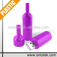 16G USB 2.0 OEM Logo Bottle shape USB pen