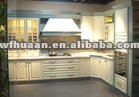 2013 American style PVC kitchen cabinet design with high quality and competitive price